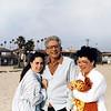 Harold Gardiner, Terri & Holly Cohen in California