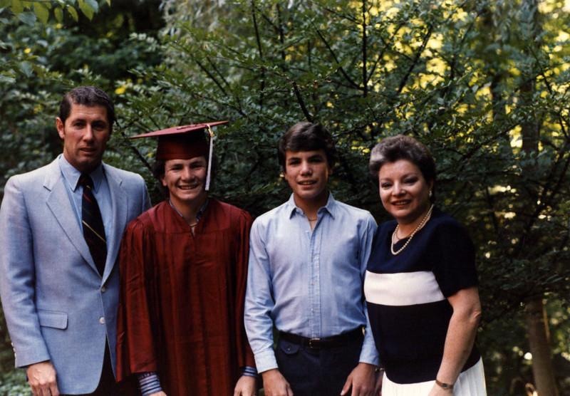 Terry, Douglas, Stuart & Irene Moyes