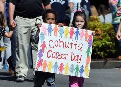 Cohutta Career Day Parade 10-16-15