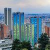 Detalhes Arquitetônicos de Bogotá