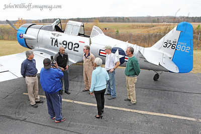 Col. Edgar Lewis Flies with the CAF!