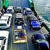 SCJC onboard landing ship to Fraser Island.