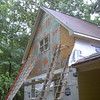 Day 5 - Old Siding Removed