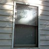 Window before repairs