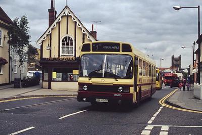 Colchester Borough Transport September 1994