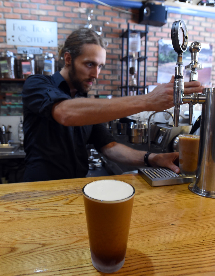 Nitro Draft Coffee at The Cup