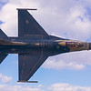 F-16 Fighting Falcon Top View