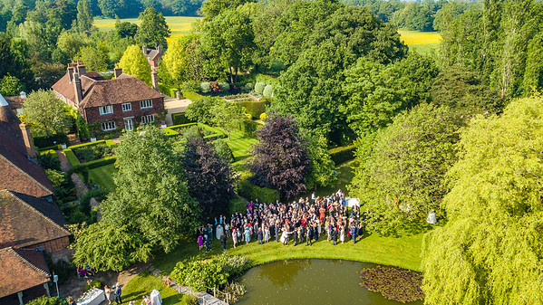 Aerial Shots - Coldman Wedding