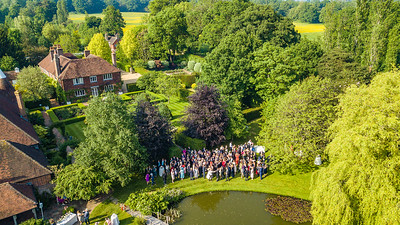 Aerial Shots - Coldman Wedding