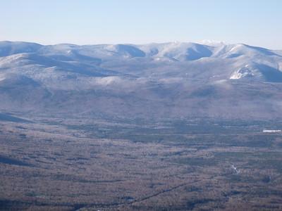 Franconia Ridge Way Back