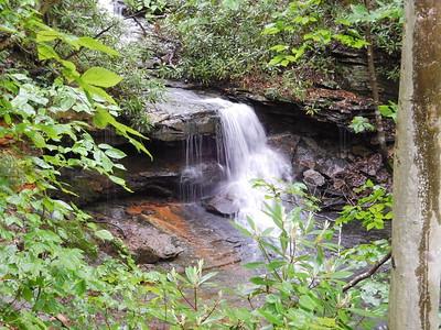 Cole Run Cave Falls