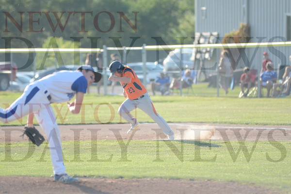 Colfax-Mingo Baseball vs. Moravia July 15, 2017