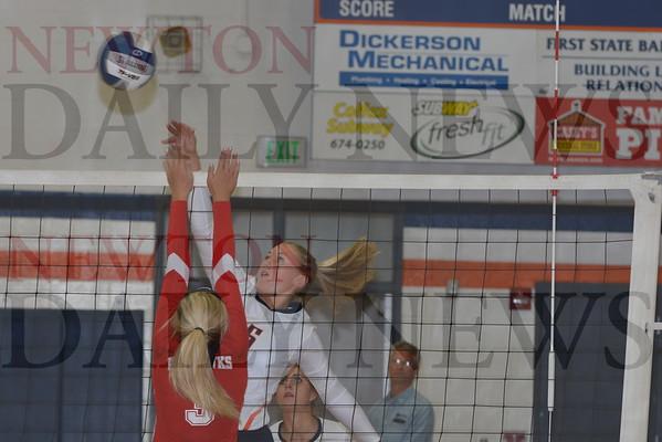 Colfax-Mingo Volleyball vs. North Mahaska 9-1-16
