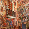 The Murals Depict Mexican History
