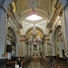 The Elegant Interior Of The Catedral
