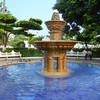 A Substantial Fountain In The Jardin de Alvaro Obregon