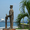 A Permanent Sailor Looking Out To Sea