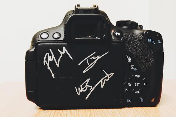 Autographed Camera