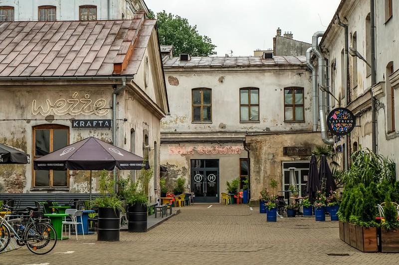 Dolne Młyny in Krakow, Poland