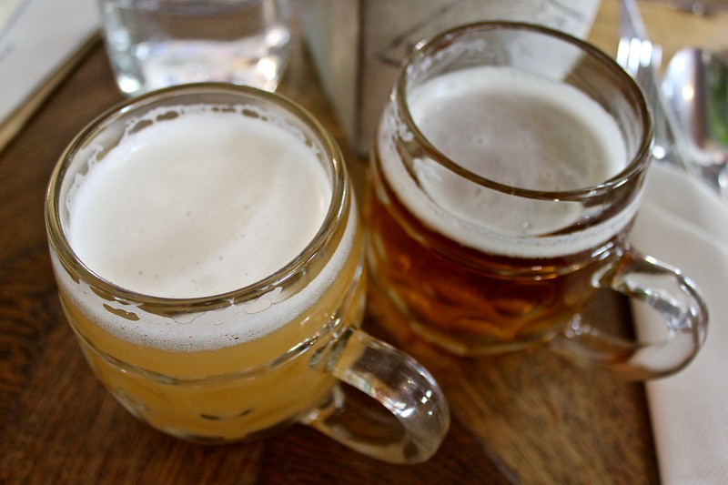 beers at Plac Nowy 1 in Kazimierz