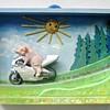 Gysse på motorcykel