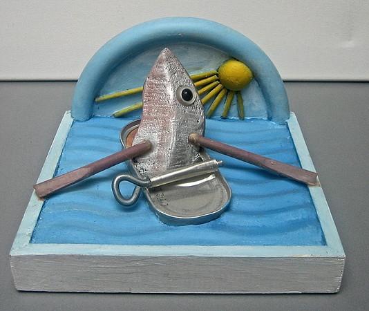 Ro ro til fiskeskær