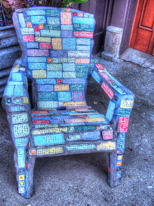 Art Chair, Squid Alley