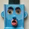 Portræt Mr Blue