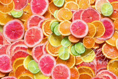 Citrus Fruit Rainbow