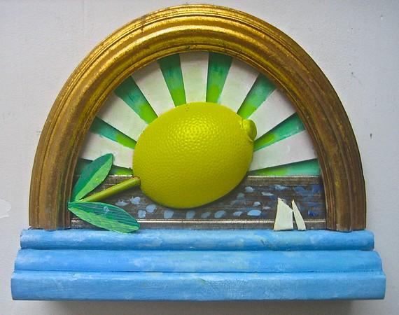 Solopgang med citron