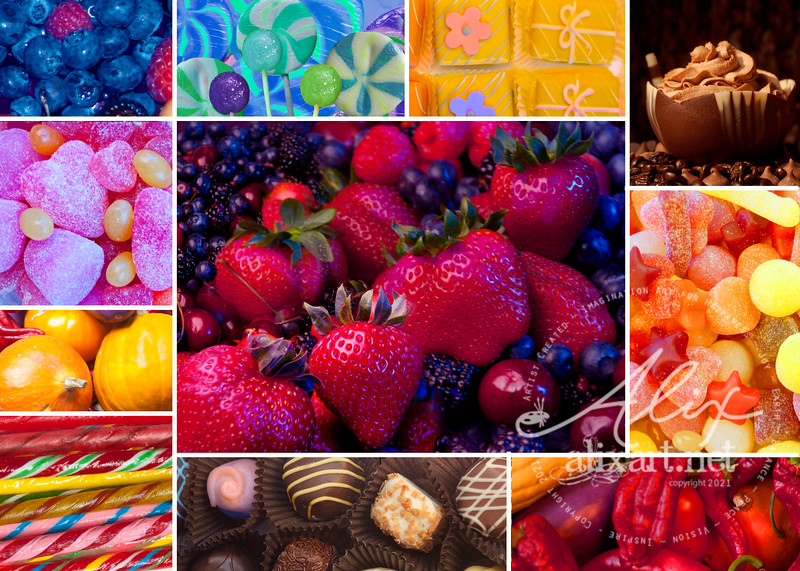 Color Collage yummy