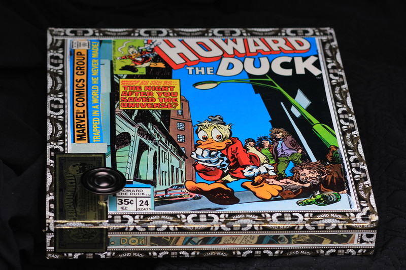Howard the Duck box...people follow this rare comic since his feautre in recent comic movies
