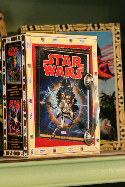 Star Wars box others feature Darth Vader -SOLD-
