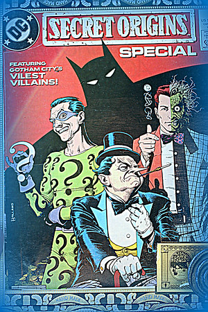 BatMan With Riddler 2 Face and Penguin Mburgess boxes