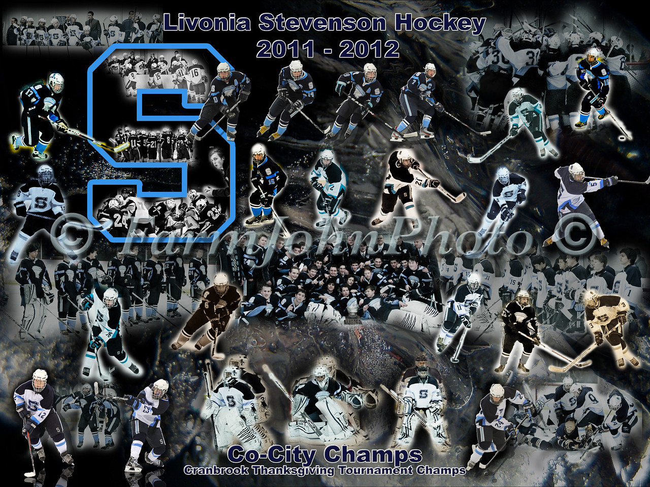 LSHS Team Collage 24 x 18 Format Proof 7