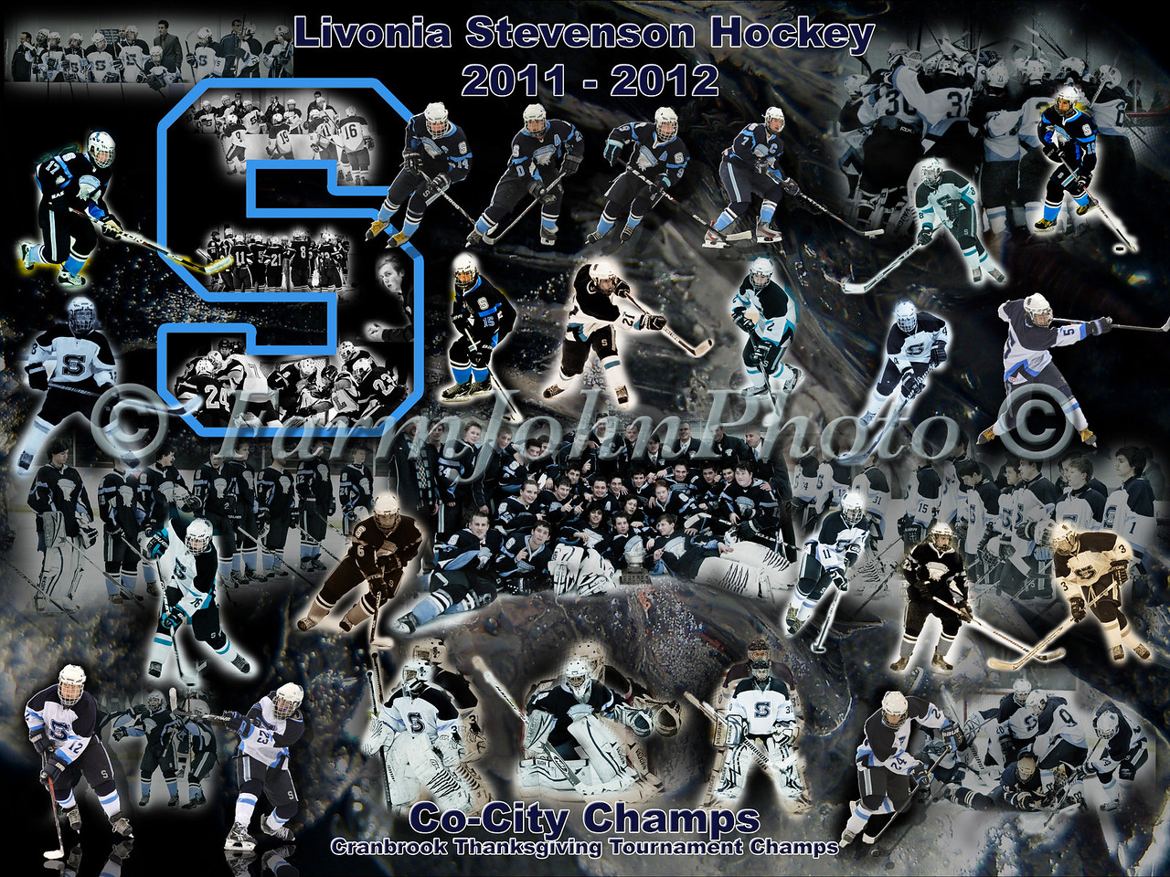 LSHS Team Collage 24 x 18 Format Proof 8