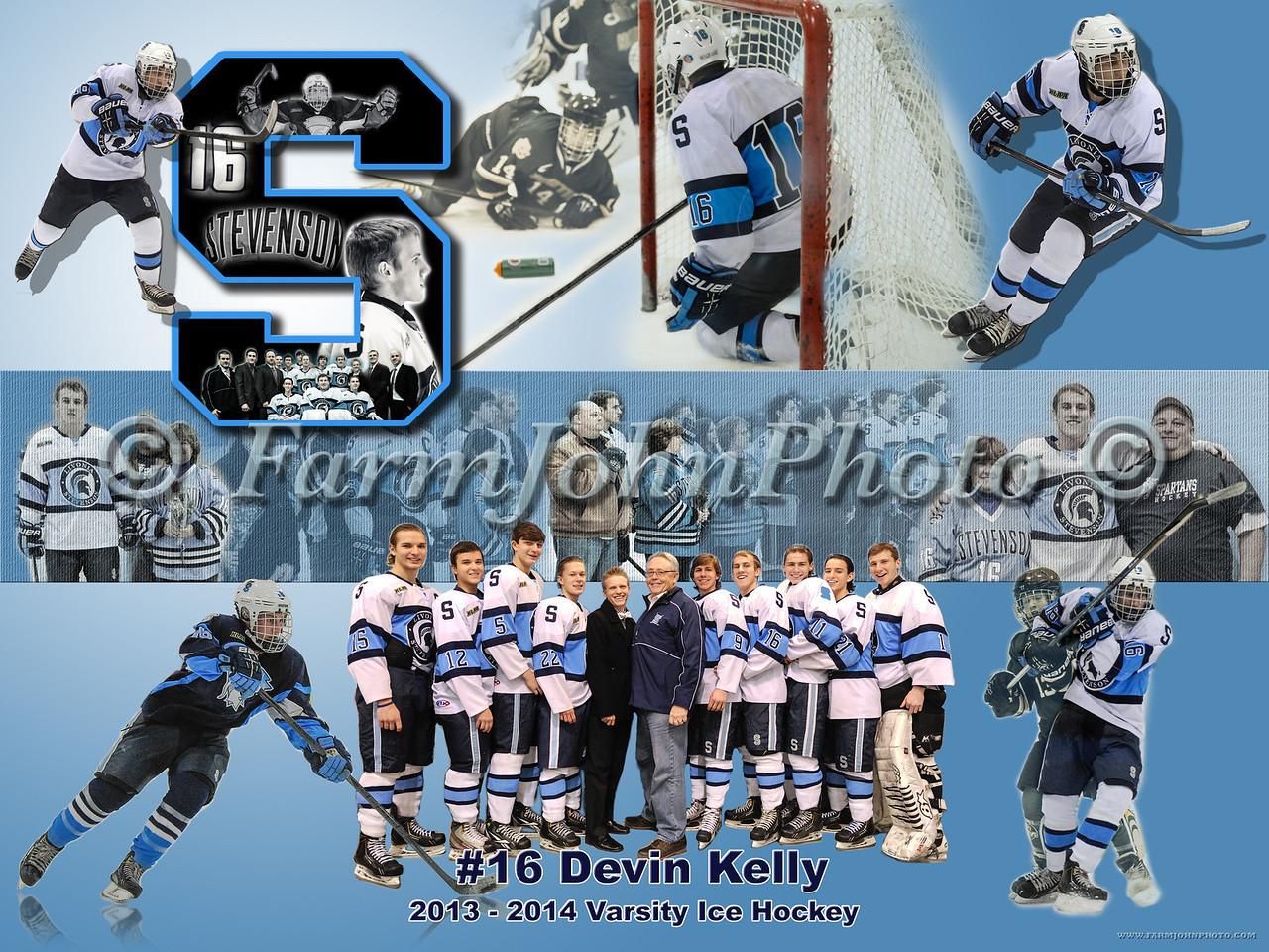 #16 Devin Kelly 24 x 18 Format Proof 1