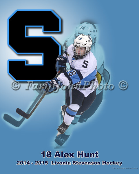 8x10 18 Alex Hunt Proof 8