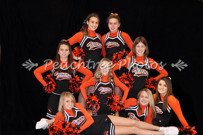 Jr High Cheerleaders Team 2010-11 lighter