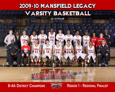 Legacy Basketball Team 2009-10