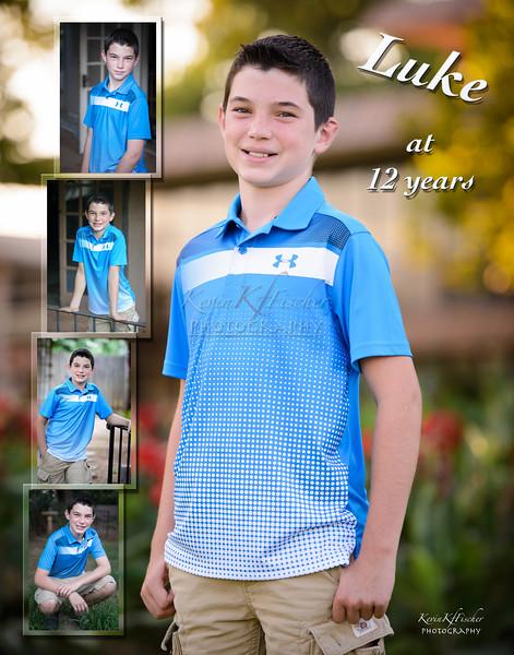 Luke Jett at 12 years