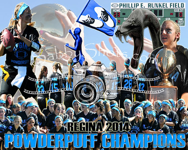Regina Powderpuff Collage