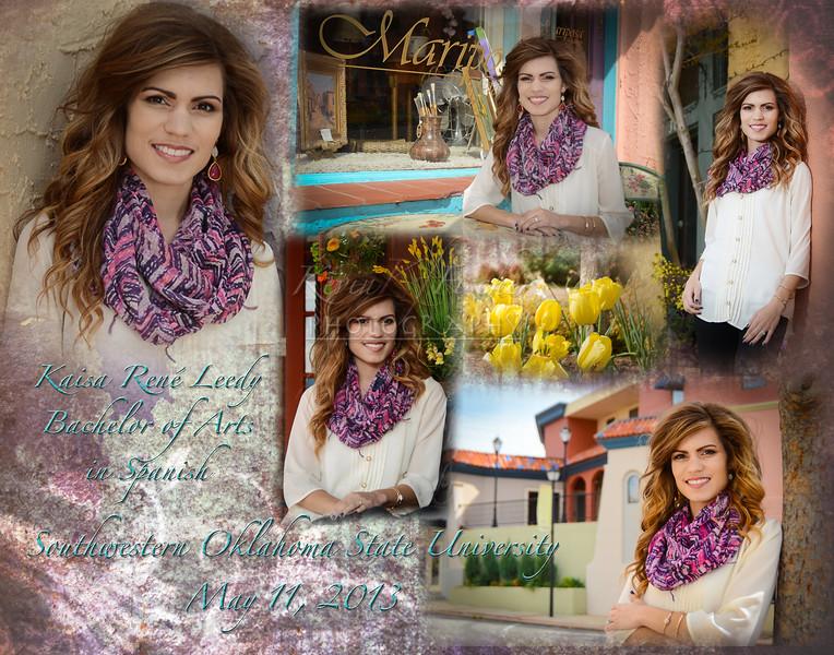 Kaisa's 11x14-SWOSU collage