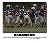 Style #5 Motivational Football Poster<br /> 20x24