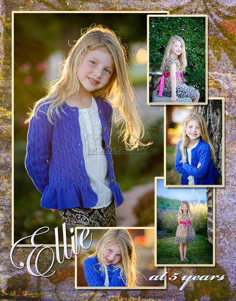 Ellie Jett at 5 years