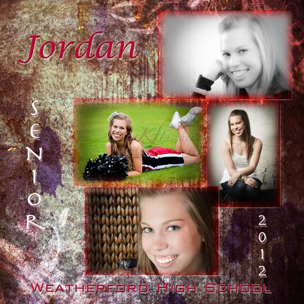 Jordan Grubb~12x12 collage