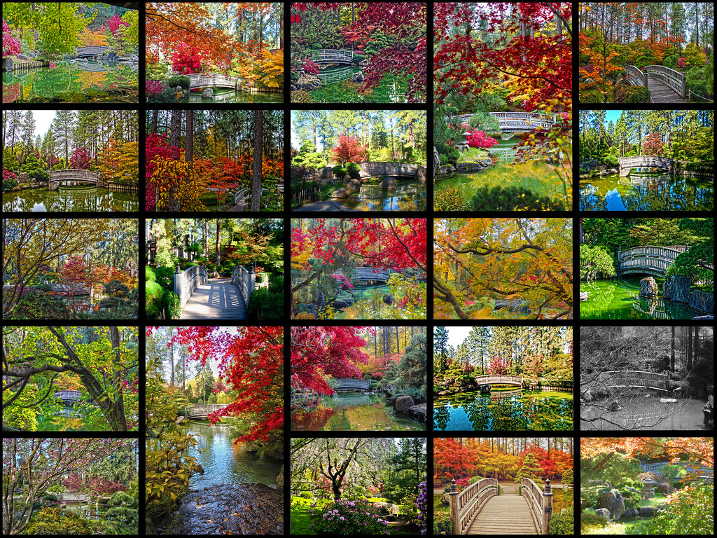 Japanese Gardens - Manito Park - Through The Years