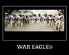 Style #11 War Eagle Poster<br /> 8x10, 16x20