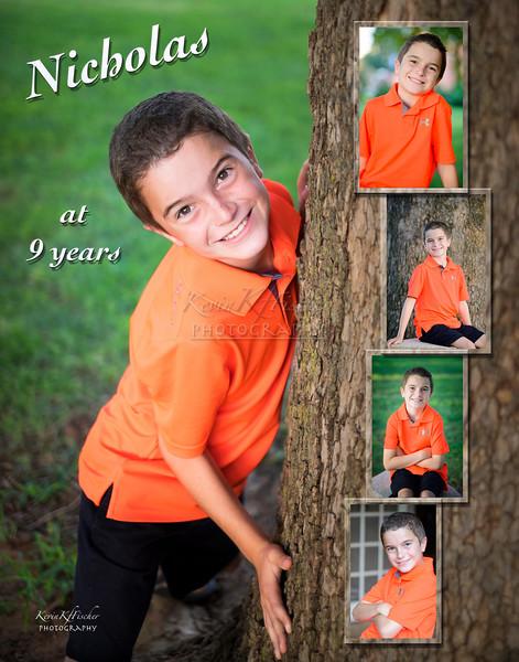 Nicholas Jett at 9 years