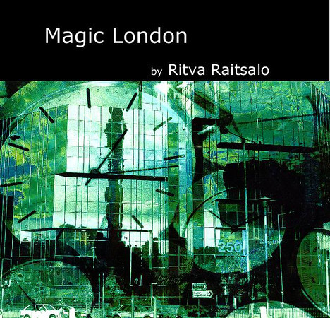 "If you would like to preview or buy my book <b>Magic London</b> containing  hand colored montaged gelatin silver prints of 1990-1995, please head to <a href=""http://www.blurb.com/b/1594138-magic-london?ce=blurb_ew&utm_source=widget"">Blurb</a>."